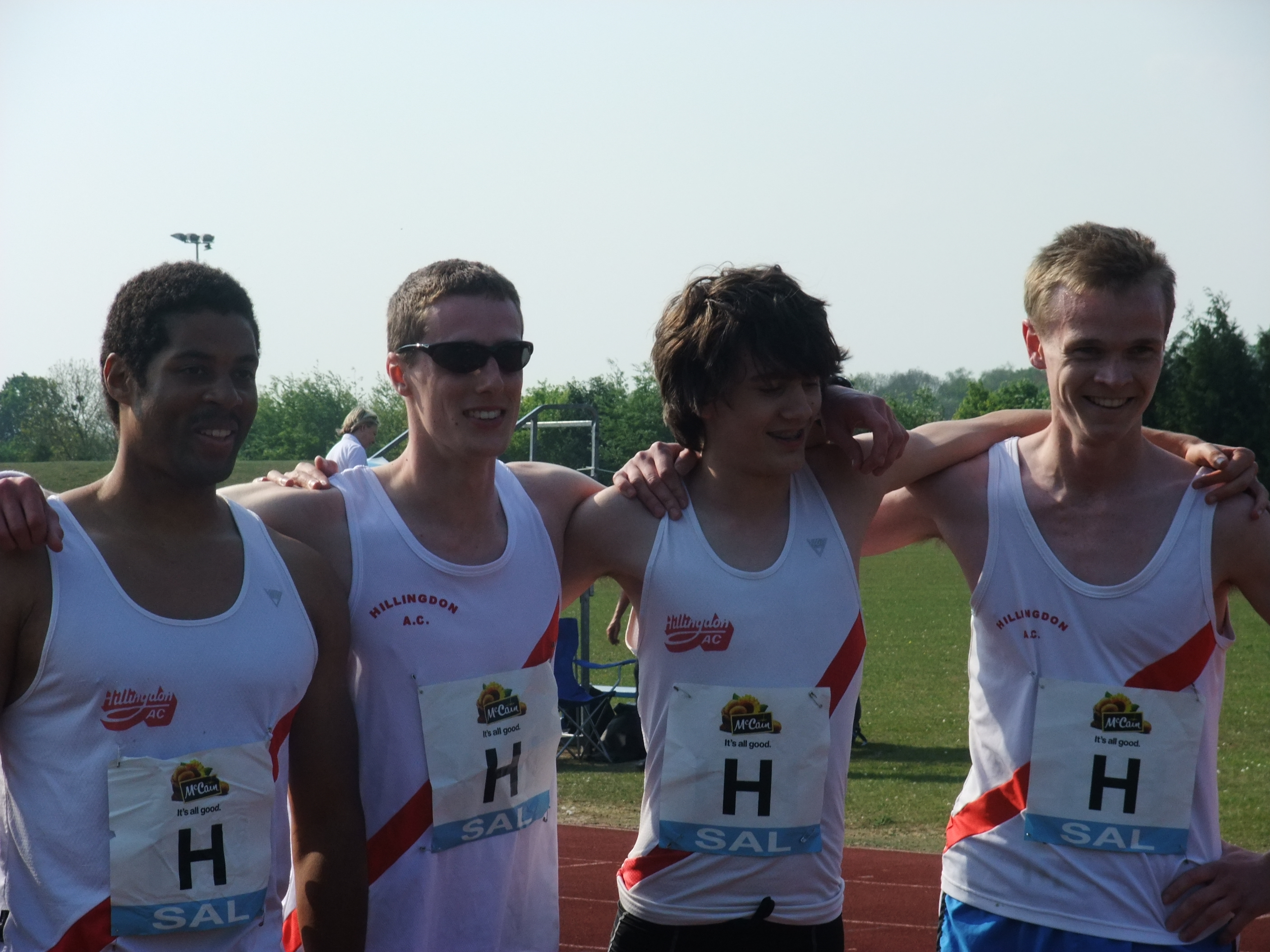 Mens 4 X 4 team, Michal steven, Matt and Rob