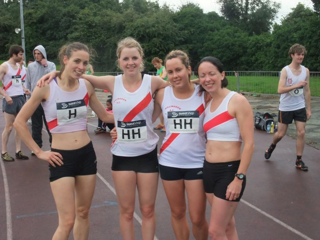 Women's 4X4 team