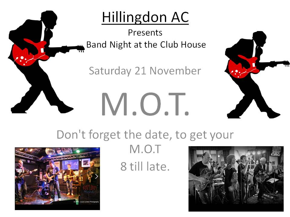 Hillingdon AC MOT
